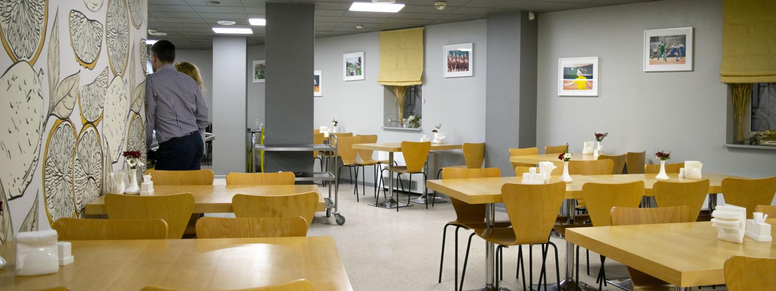 Dinner's в офісі UKRSIBBANK